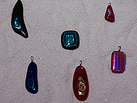 Teaching Dichroic Glass making
